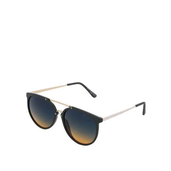 Ochelari de soare negri Jeepers Peepers cu lentile în degrade de la Jeepers Peepers in categoria Accesorii