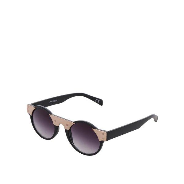 Ochelari de soare negru & auriu Jeepers Peepers cu lentile degrade de la Jeepers Peepers in categoria Accesorii
