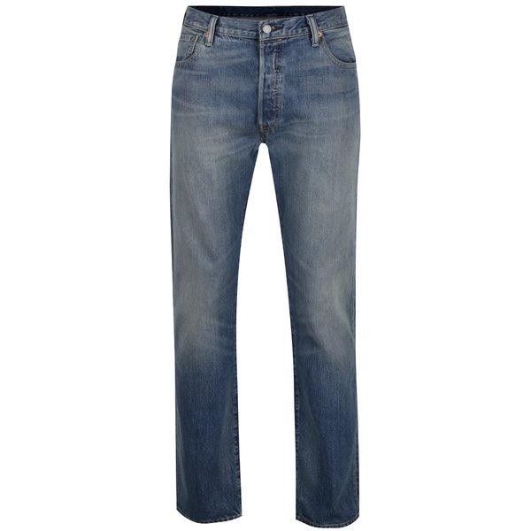 Blugi albaștri Levis® 501™ cu aspect ușor prespălat