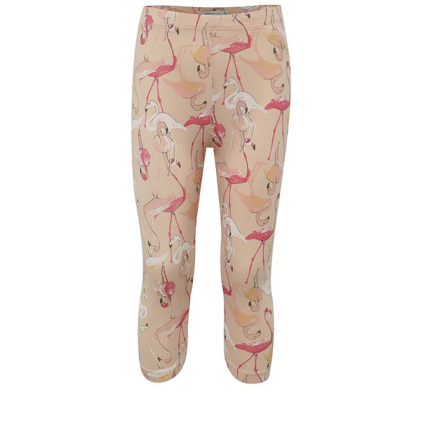 Colanți roz prăfuit cu flamingo name it Viviankiba pentru fete de la name it in categoria Pantaloni, pantaloni scurți, colanți