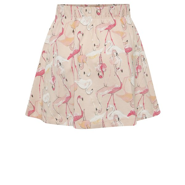 Fustă roz pal cu flamingo name it Viggakira din bumbac de la name it in categoria Rochii, fuste