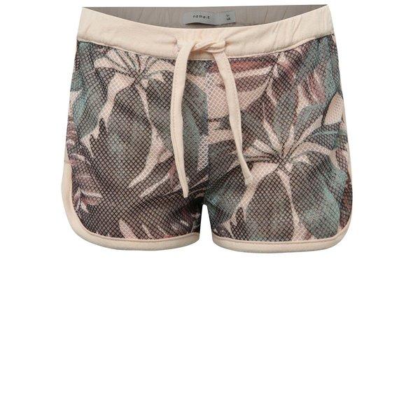 Pantaloni scurți verde & roz pal name it Jamesh pentru fete de la name it in categoria Pantaloni, pantaloni scurți, colanți
