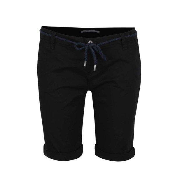Pantaloni negri ONLY Paris cu șnur în talie de la ONLY in categoria Blugi, pantaloni, colanți