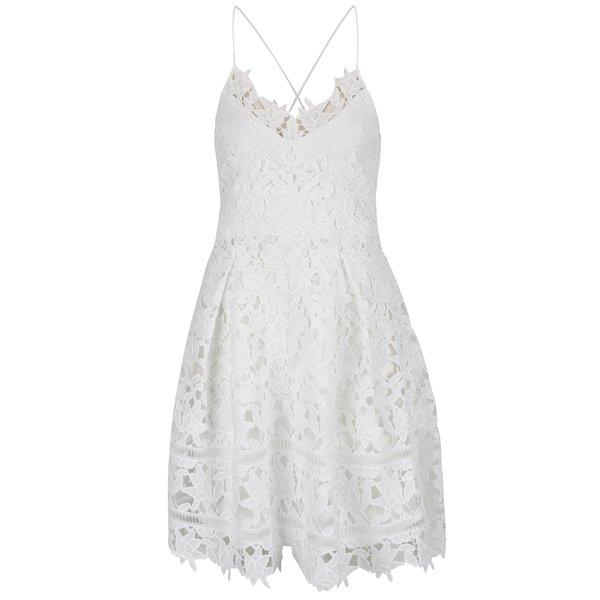 Rochie crem VILA Clarna din dantelă de la VILA in categoria rochii de seară