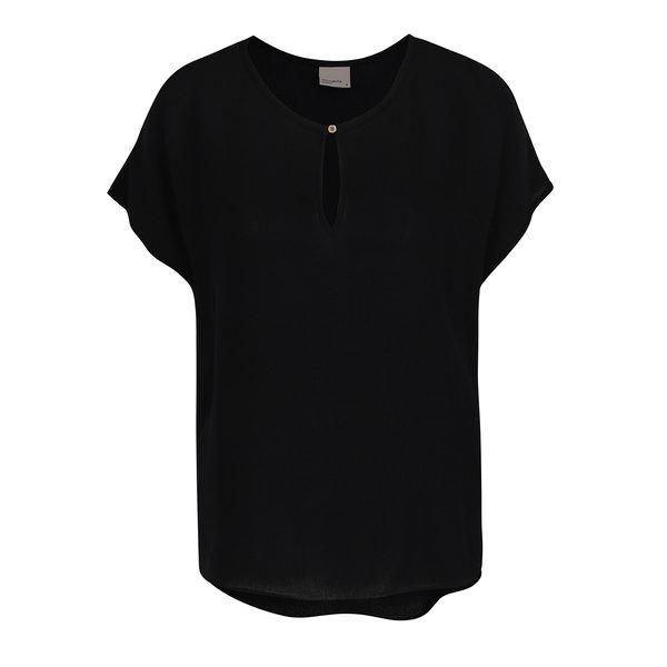 Tricou negru VERO MODA Asta cu decupaj de la VERO MODA in categoria Topuri, tricouri, body-uri