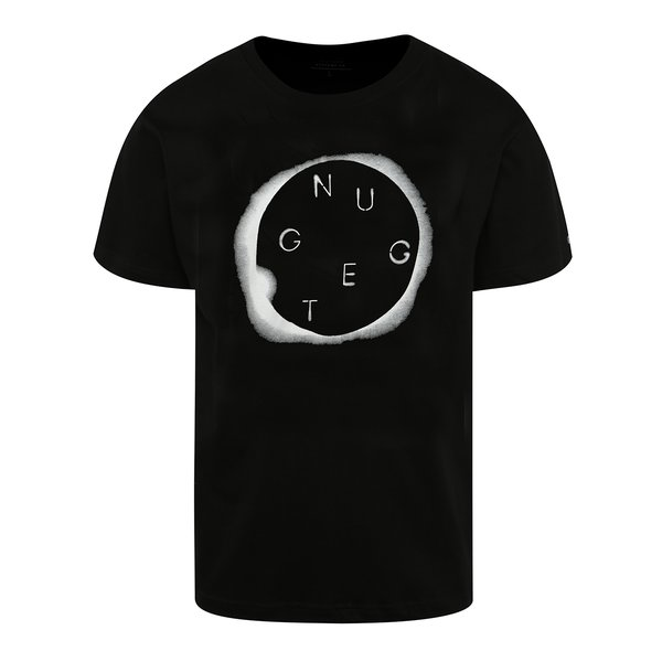 Tricou negru cu print NUGGET Void pentru bărbați de la NUGGET in categoria tricouri