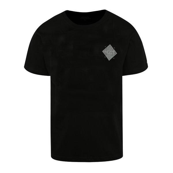 Tricou negru cu print NUGGET Aeronaut pentru bărbați