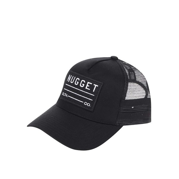 Șapcă neagră NUGGET Slope pentru bărbați de la NUGGET in categoria Accesorii