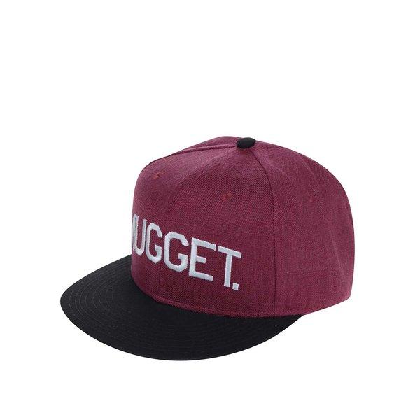 Șapcă negru & roșu burgund NUGGET Grain pentru bărbați de la NUGGET in categoria Accesorii