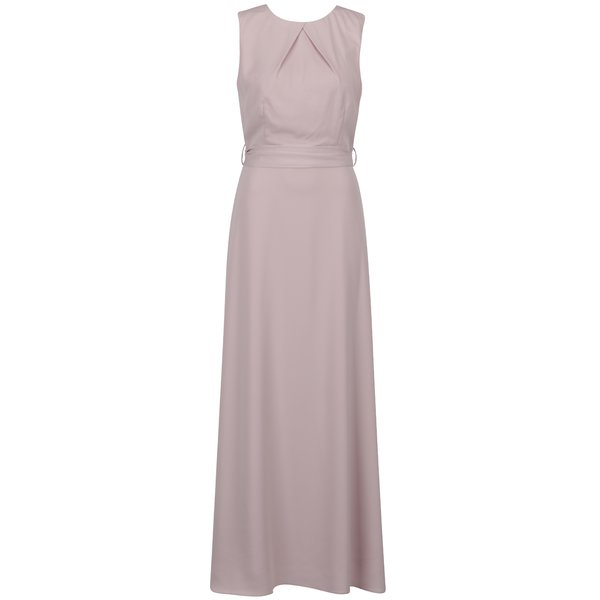 Rochie roz pudrat Dorothy Perkins cu panglici în talie de la Dorothy Perkins in categoria rochii de seară