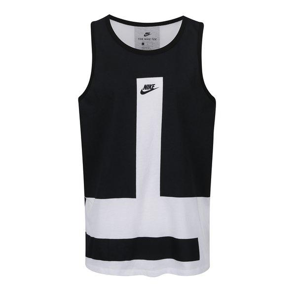 Maiou alb & negru Nike Modern pentru bărbați de la Nike in categoria maiouri