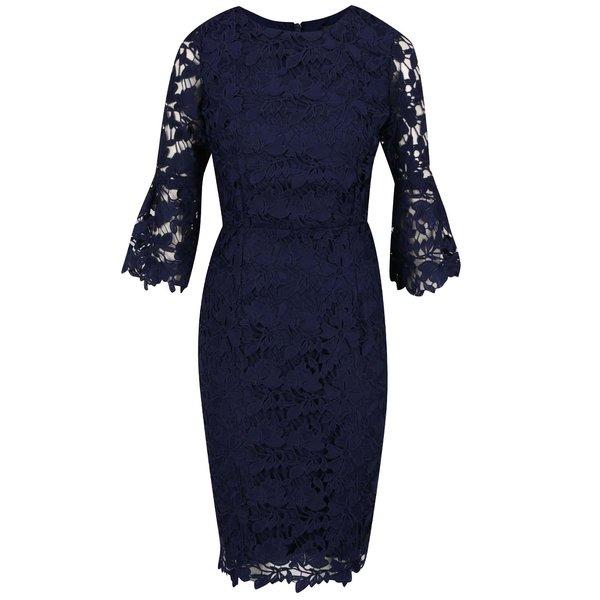 Rochie bleumarin Dorothy Perkins din dantelă spartă de la Dorothy Perkins in categoria rochii de seară
