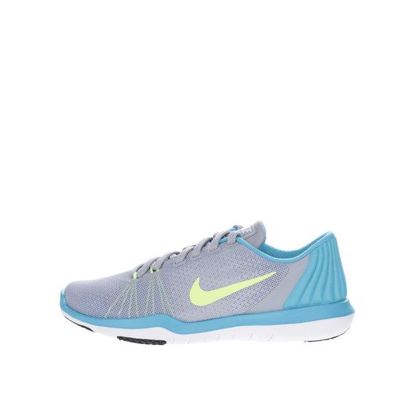 Pantofi sport gri & albastru Nike Flex Supreme unisex de la Nike in categoria pantofi sport și teniși