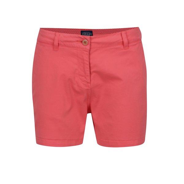 Pantaloni scurți roșu corai Tom Joule Brooke de la Tom Joule in categoria Blugi, pantaloni, colanți