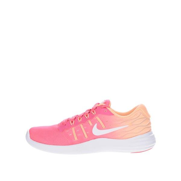 Pantofi sport roz & portocaliu Nike Lunarstelos unisex de la Nike in categoria pantofi sport și teniși