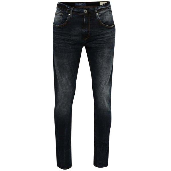 Blugi slim fit albastru închis Blend cu aspect prespălat de la Blend in categoria Blugi, pantaloni, pantaloni scurți