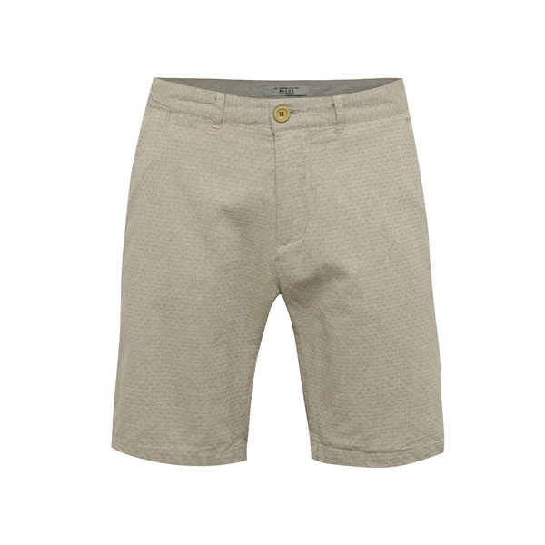 Pantaloni scurți bej Blend din bumbac
