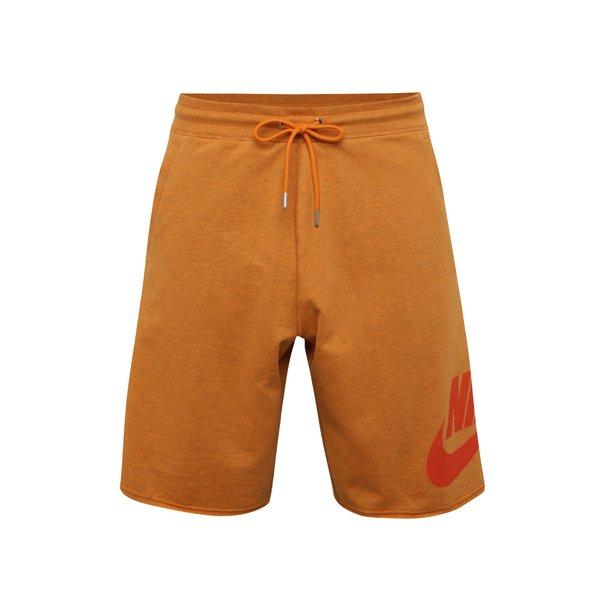 Pantaloni scurți portocalii Nike pentru bărbați