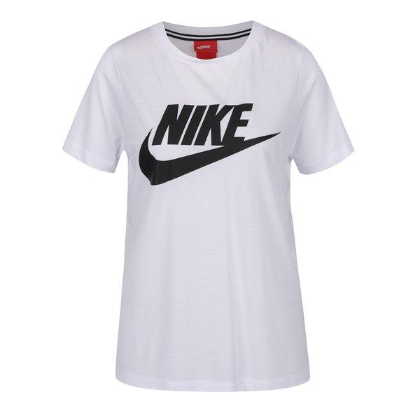 Tricou alb cu logo Nike pentru femei de la Nike in categoria Topuri, tricouri, body-uri