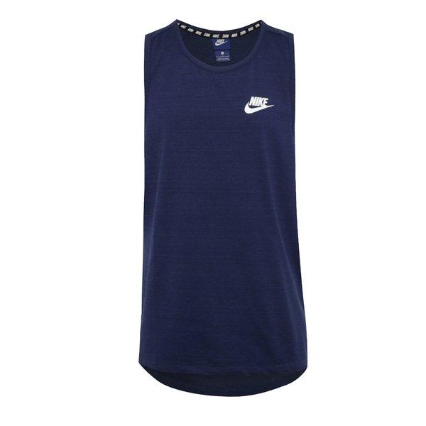 Maiou bleumarin melanj Nike Sportwear Advance 15 de la Nike in categoria Tricouri și bluze