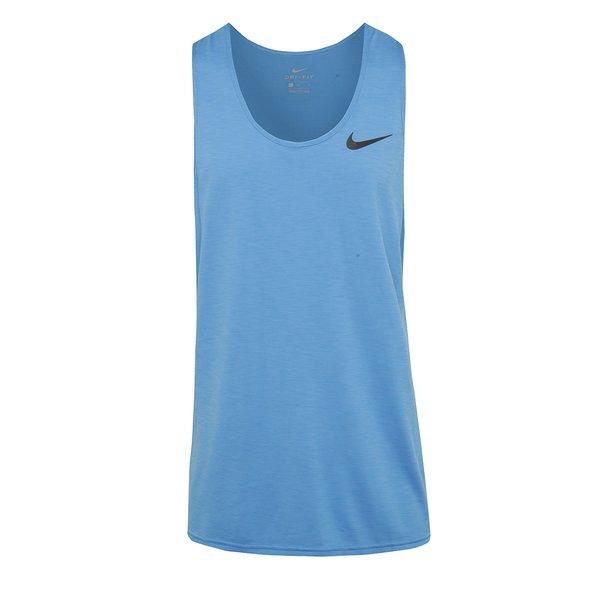 Maiou albastru Nike Breathe pentru bărbați de la Nike in categoria Tricouri și bluze