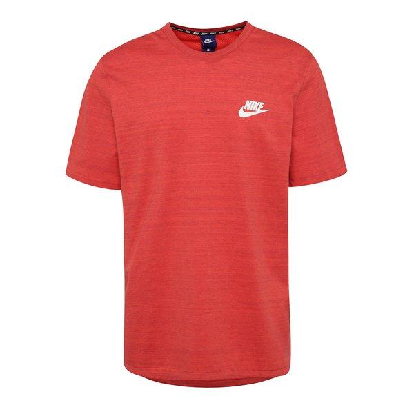 Tricou roșu melanj Nike Sportswear Advance 15 pentru bărbați de la Nike in categoria tricouri