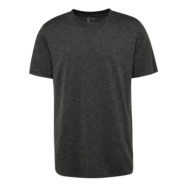 Tricou gri închis melanj Nike Breathe pentru bărbați de la Nike in categoria tricouri