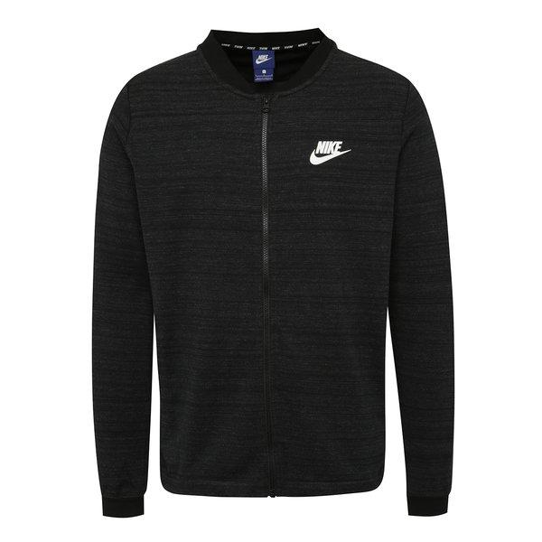 Jachetă bomber negru melanj Nike Sportswear Advance 15 pentru bărbați de la Nike in categoria Pulovere și hanorace