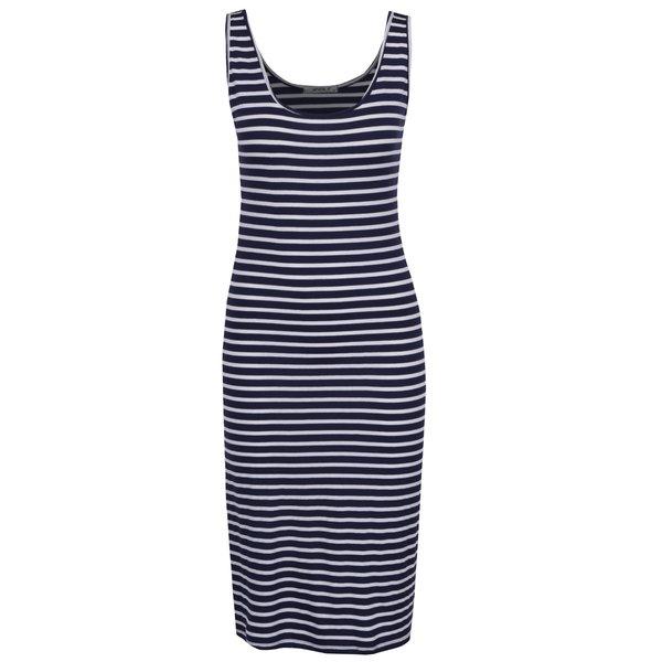 Rochie alb & albastru Haily´s Chinaly cu model în dungi de la Haily´s in categoria rochii de vară și de plajă