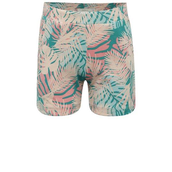 Pantaloni scurti multicolori pentru fete name it Viggajo