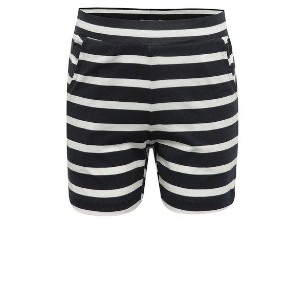 Pantaloni scurți bleumarin&alb pentru fete name it Viggajo
