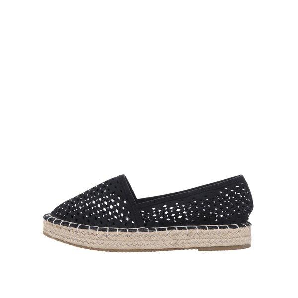 Espadrile negre Dorothy Perkins cu perforații de la Dorothy Perkins in categoria pantofi și mocasini