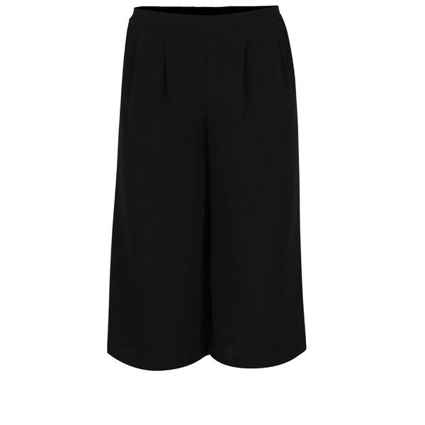 Pantaloni culottes negri ONLY Charlotte