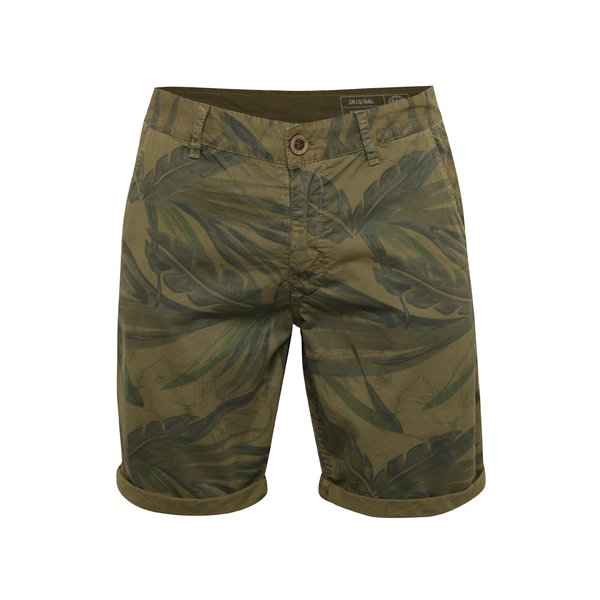 Pantaloni scurți maro Blend cu terminații îndoite