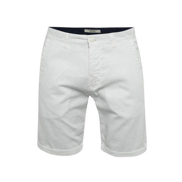 Pantaloni scurți albi Blend cu buzunare oblice de la Blend in categoria Blugi, pantaloni, pantaloni scurți