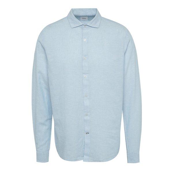 Cămașă albastru deschis din pânză Burton Menswear London