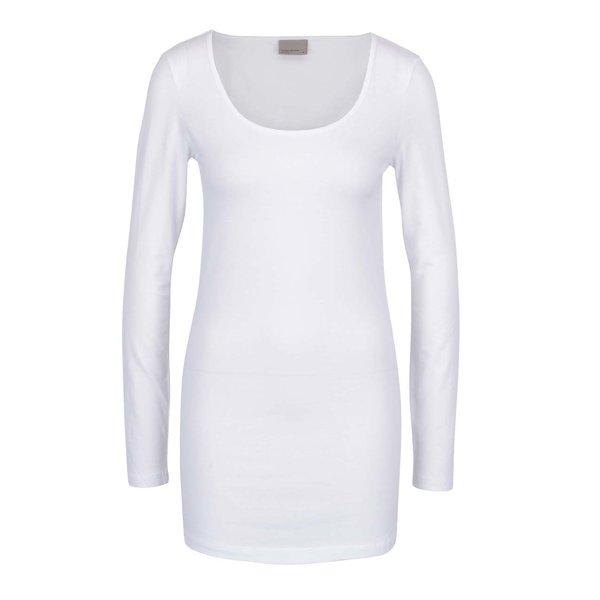 Bluză albă basic VERO MODA Maxi My