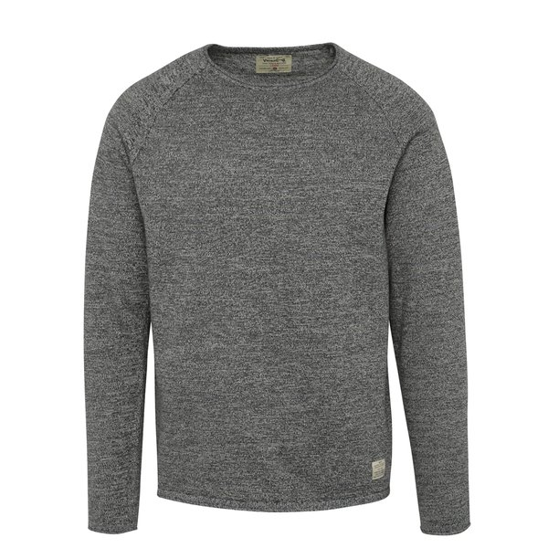 Bluza gri inchis melanj - Jack & Jones Union