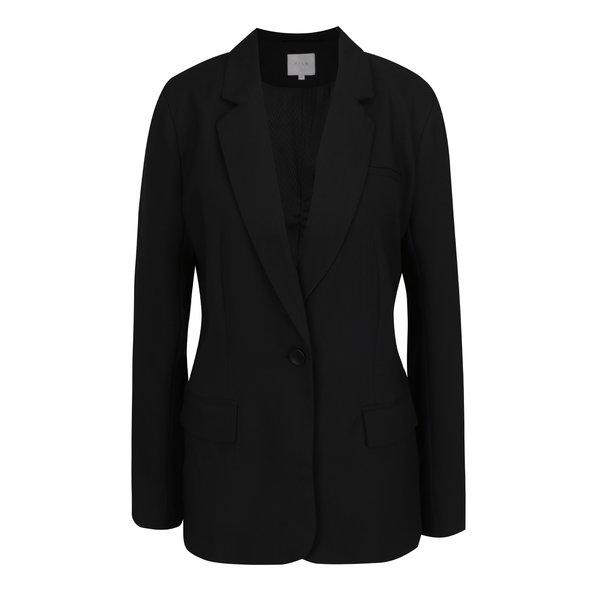 Sacou negru VILA Blazez de la VILA in categoria Geci, paltoane, jachete