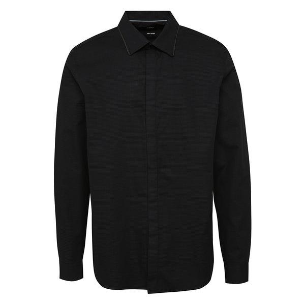 Cămașă slim fit gri&negru Burton Menswear London de la Burton Menswear London in categoria Cămăși