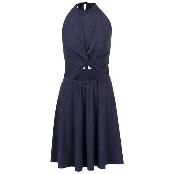 Rochie albastru Melanj Juicy Couture cu decupaje