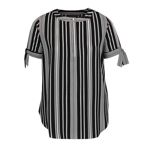 bluza alb & negru Dorothy Perkins Curve