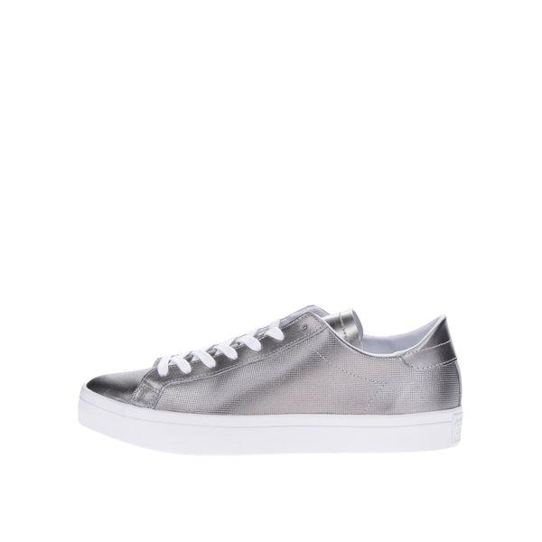 Pantofi sport argintii adidas Originals Court Vantage de la adidas Originals in categoria pantofi sport și teniși