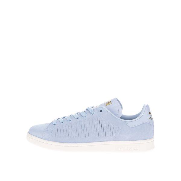 Pantofi sport bleu adidas Originals Stan Smith