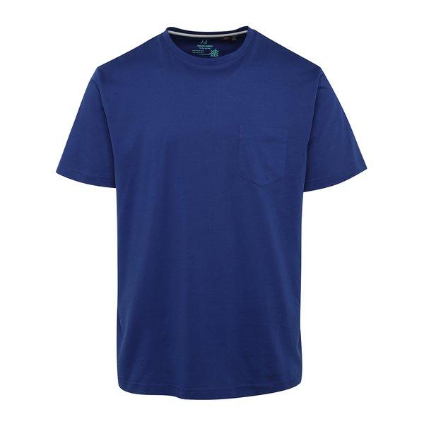 Tricou albastru JP 1880 cu buzunar pe piept de la JP 1880 in categoria tricouri