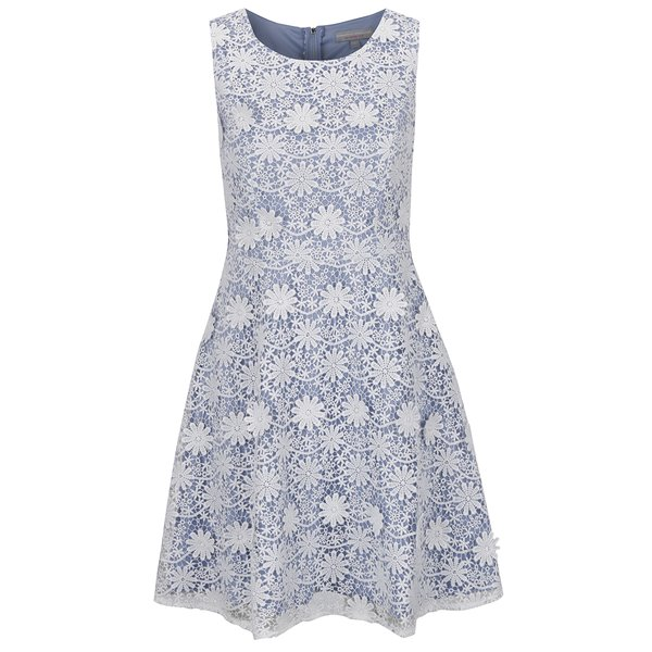 Rochie albastru&crem Dorothy Perkins Petite din dantelă de la Dorothy Perkins Petite in categoria rochii casual