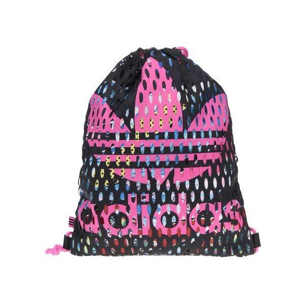 Rucsac negru & roz adidas Originals cu model perforat de la adidas Originals in categoria rucsacuri