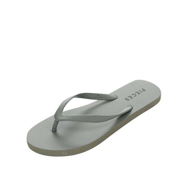 Șlapi kaki Pieces Vera
