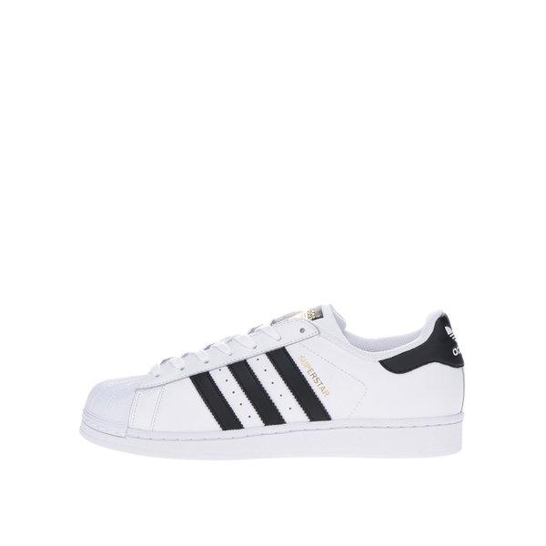 Pantofi sport albi din piele pentru bărbați adidas Originals Superstar de la adidas Originals in categoria pantofi sport și teniși