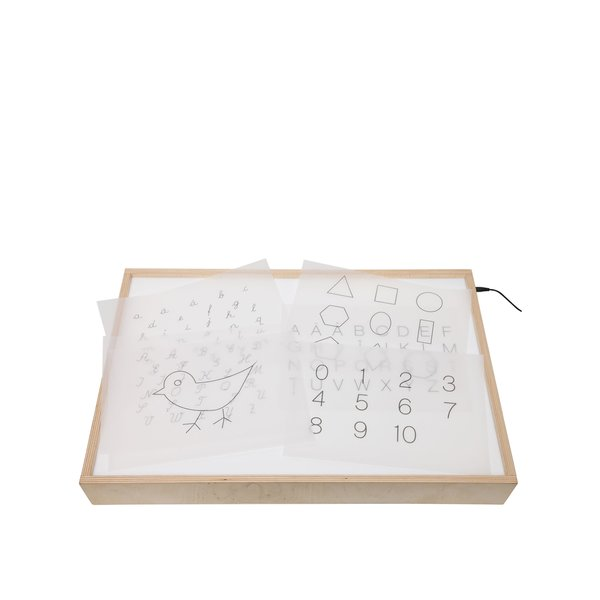 Cutie luminoasă din lemn MORMI de la MORMI in categoria Copii